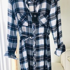 #NWT Rails Nadine Shirt Dress